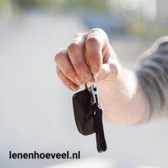 Autolening: geld lenen om een auto te kopen